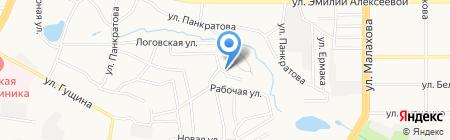 Оптово-розничная компания на карте Барнаула
