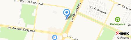 Франция-Авто на карте Барнаула