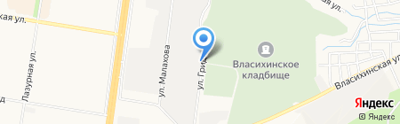 Купец на карте Барнаула