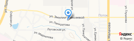 Агат на карте Барнаула