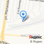 Оконный завод на карте Барнаула