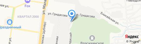 ИНТЕКО-АЛТАЙ на карте Барнаула