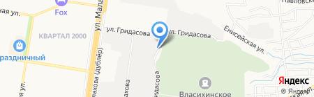 Алтайская Бетонная Компания на карте Барнаула