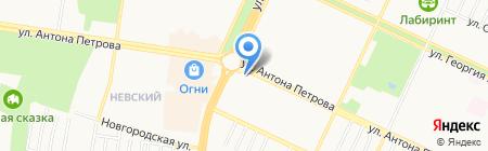 Буфет на карте Барнаула