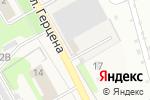 Схема проезда до компании ТК Алтайский кедр в Барнауле