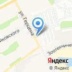 ТК Алтайский кедр на карте Барнаула
