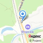 Гринволд на карте Барнаула