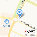 Express на карте Барнаула