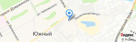 Кондитерский цех на карте Барнаула