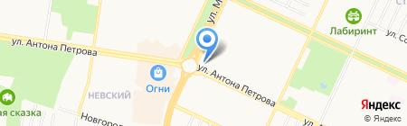 Ку-Ку на карте Барнаула