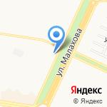 Мария на карте Барнаула