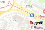 Схема проезда до компании Цветы от Алёны в Барнауле