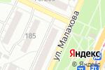 Схема проезда до компании Мария в Барнауле