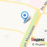 ГОСТ на карте Барнаула