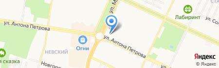 СПОРТИВНЫЕ ВРЕМЕНА & ВЕЛЛНЕСС СПА КОНСАЛТИНГ-ЦЕНТР на карте Барнаула