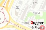 Схема проезда до компании Wellness в Барнауле