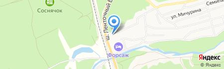 Superkomod на карте Барнаула