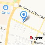 Мировые судьи Ленинского района на карте Барнаула