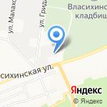Мир тентов на карте Барнаула