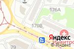 Схема проезда до компании Киоск по изготовлению ключей в Барнауле