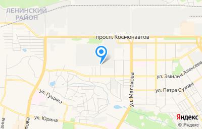 Местоположение на карте пункта техосмотра по адресу г Барнаул, ул Германа Титова, д 37