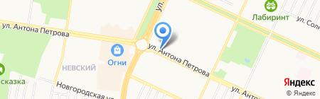 Абс-сервис на карте Барнаула