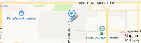 Памир на карте Барнаула