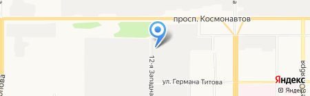 Гранд Мебель на карте Барнаула