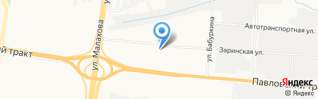 Восторг на карте Барнаула