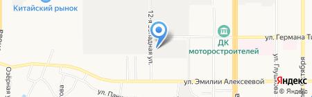 Компания Металл Профиль на карте Барнаула