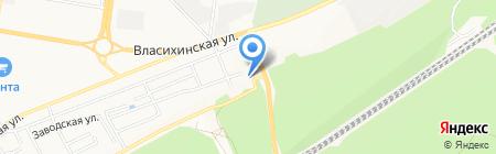 Царская мыльня на карте Барнаула
