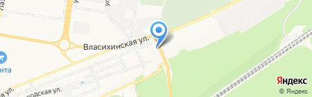 Пикник на карте Барнаула