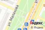 Схема проезда до компании Спылу Сжару в Барнауле