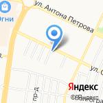 Автоюрист на карте Барнаула
