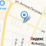 Малышев и партнеры на карте Барнаула