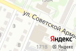 Схема проезда до компании Правозащита в Барнауле