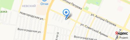 Альянс-Продукт на карте Барнаула