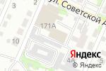 Схема проезда до компании Evalution в Барнауле