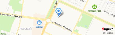Ремонтно-монтажная компания на карте Барнаула