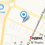 Отдел полиции №3 Управления МВД России по г. Барнаулу на карте Барнаула