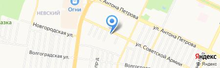Страховая компания на карте Барнаула