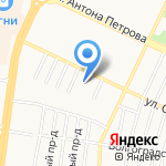 Кристи на карте Барнаула