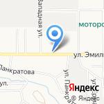 ДоЛорес на карте Барнаула