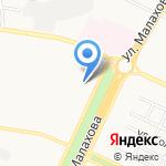 Дежурная парикмахерская на карте Барнаула