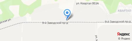 Артель-пром на карте Барнаула