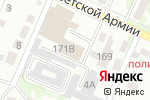 Схема проезда до компании Мультисервис22 в Барнауле