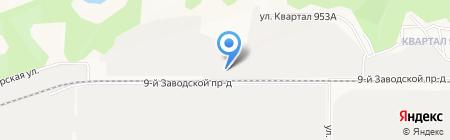 АляСко на карте Барнаула