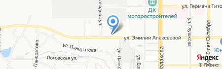 Трак-Мастер на карте Барнаула