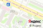 Схема проезда до компании Вкусные продукты в Барнауле
