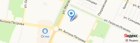 Детский сад №251 на карте Барнаула